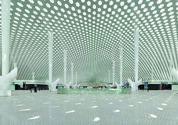Airport in Shenzhen, China